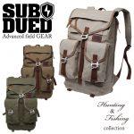 SUBDUEDの狩りと釣りをテーマにした『Hunting&Fishing collection』のバックパック【渋谷店】