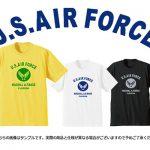 東久留米店限定!!「U.S.AIR FORCE Tシャツ」に新色イエロー登場しました !!