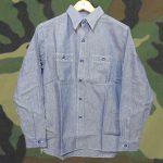 さらりと羽織れるシャンブレーシャツ !! 東久留米店