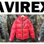 AVIREXダウンジャケットがSALE価格にて販売中 !! 【東久留米店】