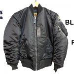 バズリクソンズ×ウィリアム・ギブソン BLACK MA-1ジャケット1stレギュラーモデル !! 東久留米店