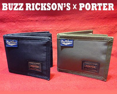 BUZZ RICKSON'S × PORTER コラボウォレット新作入荷 !! 東久留米店
