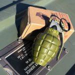 手榴弾型ターボライター。【横田店】